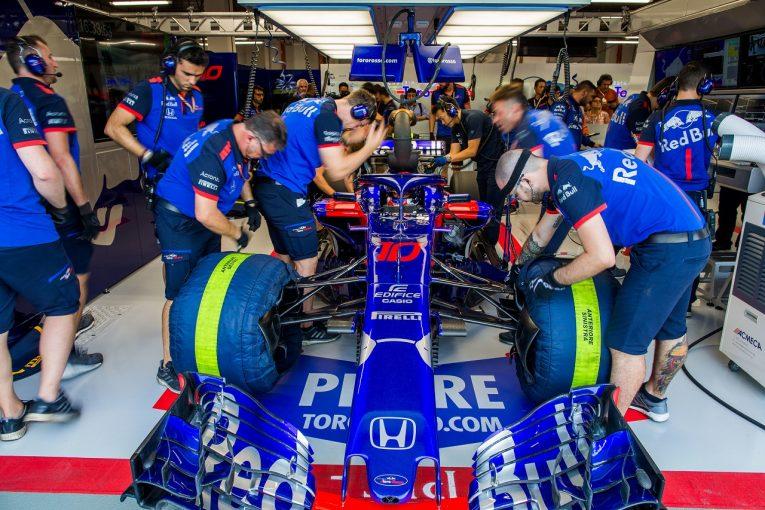 F1 | ホンダ田辺TD「トラブルフリーで走行できたが、パッケージ全体のパフォーマンスはまだ満足できる状態ではない」:F1シンガポールGP金曜