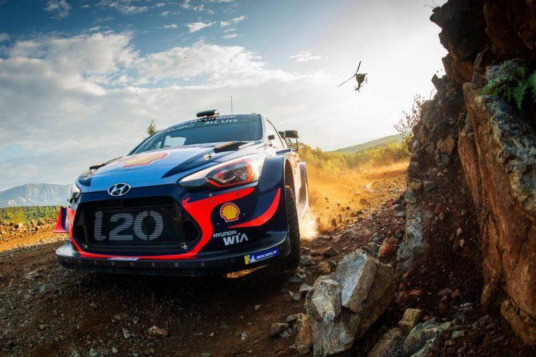 ラリー/WRC | WRCトルコ:デイ2はタイトル争うヌービル、オジエが0.3秒差で首位を争う展開に