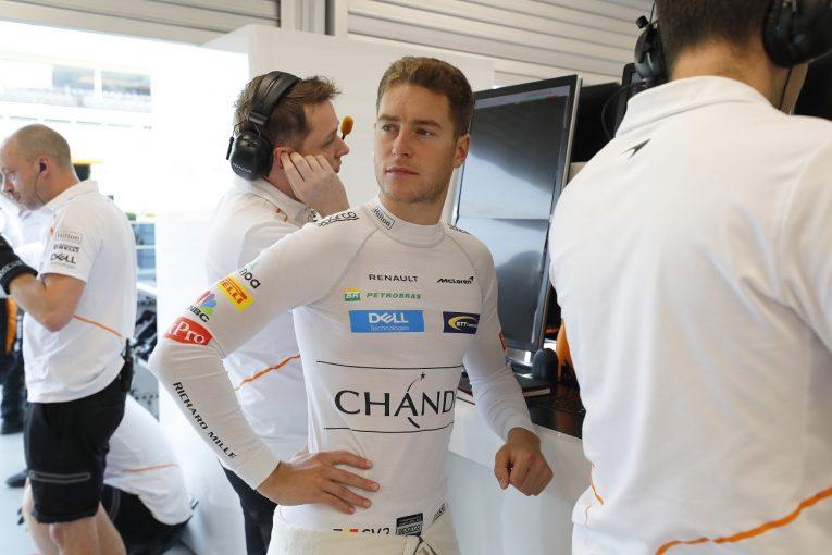 F1   バンドーン「トラブルに見舞われたが、ペースは悪くない」:F1シンガポールGP金曜