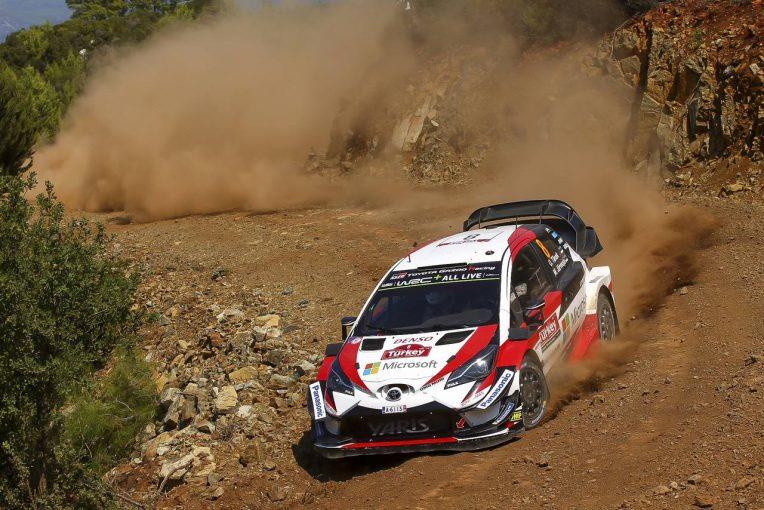 ラリー/WRC   WRCトルコ:アクシデント続出のデイ3はトヨタ1-2。ヌービル&オジエがリタイア