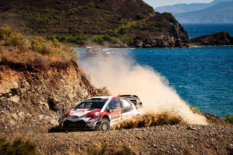 ラリー/WRC | WRC:トヨタ、タナクとラトバラが1-2形成。「彼らは難局をうまく切り抜けた」とマキネン
