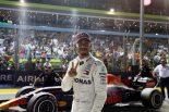 F1 | ハミルトンがポールラップを語る「どこから出てきたのか分からない。魔法のような1周だった」:F1シンガポールGP土曜