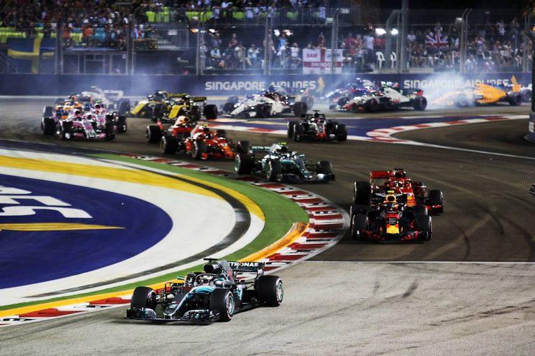 F1 | 【順位結果】F1第15戦シンガポールGP決勝