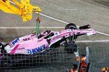 F1 | 【動画】フォース・インディアが同士討ち。オコンはリタイア/F1シンガポールGP 決勝