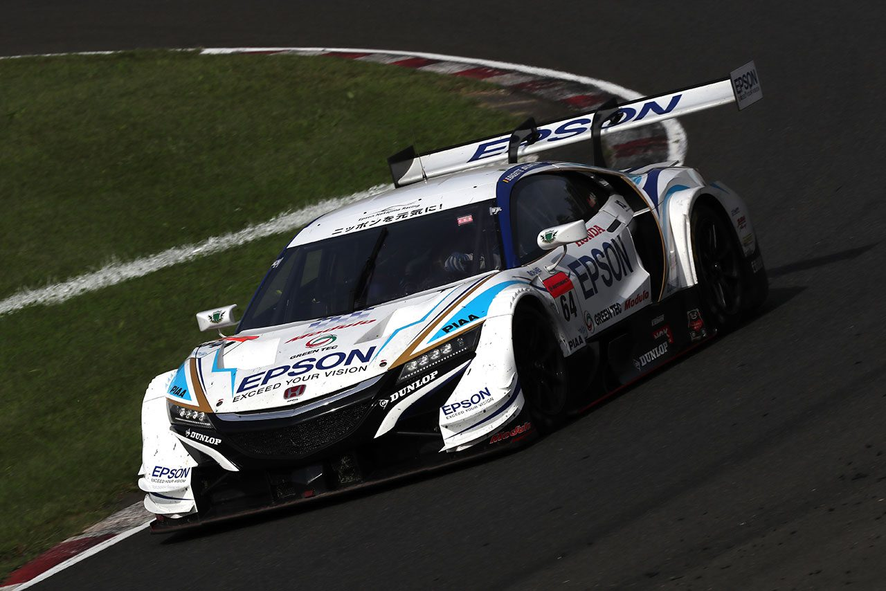 Epson Nakajima Racing 2018スーパーGT第6戦SUGO 決勝レポート