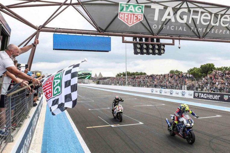 EWC開幕戦ボルドール24時間レースを制したF.C.C.TSRホンダ・フランス