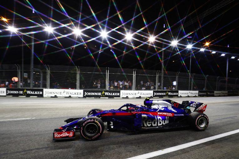 F1   ホンダ田辺TD「非常に厳しい週末に。金曜からのペース不足が響き、ポイントに届かず」:F1シンガポールGP日曜