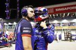 F1 | ガスリー「アグレッシブなタイヤ戦略で苦しむ結果に。週末を通して速さがなかった」:トロロッソ・ホンダ F1シンガポールGP日曜