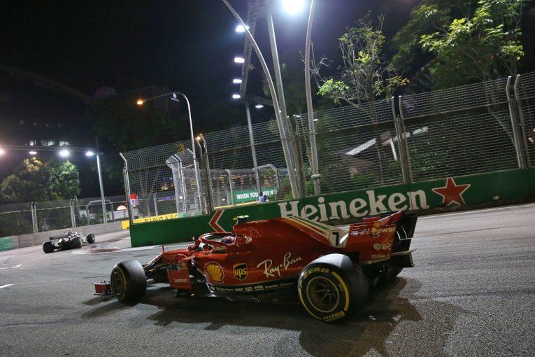 F1   ライコネン5位「ボッタスはタイヤに苦しんでいたが、それでも彼を抜くことができなかった」:F1シンガポールGP日曜