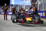 F1 | リカルド「市街地レースはポールシッターしか楽しめない」:F1シンガポールGP日曜
