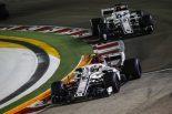F1 | ルクレール9位「完璧に近いレースで久々のポイント獲得」:ザウバー F1シンガポールGP日曜