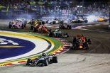 2018年F1第15戦シンガポールGP決勝スタート