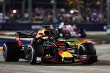 2018年F1第15戦シンガポールGP ダニエル・リカルド