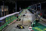 2018年F1第15戦シンガポールGP カルロス・サインツJr.