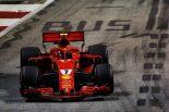 2018年F1第15戦シンガポールGP キミ・ライコネン