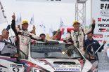 全日本ラリー第8戦:勝田が「自分以上の走り」で2018年シーズン2勝目。新井の連勝は4でストップ