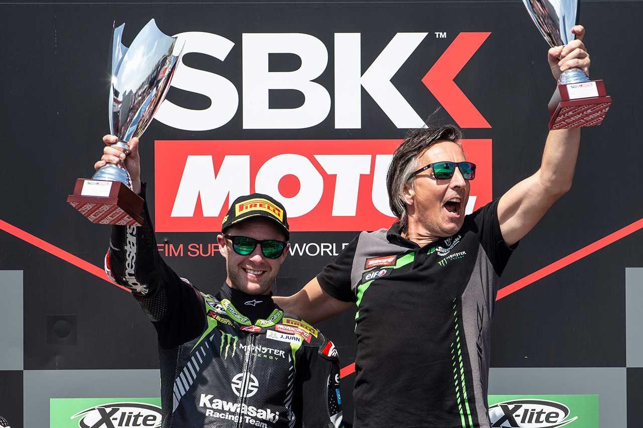 カワサキのレイ、SBK4連覇にポルトガルで王手。ダブルウインもレース2では「全力のレースだった」
