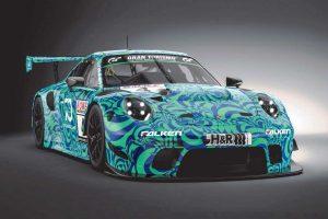 ファルケン・モータースポーツがVLN第7戦に投入する新型ポルシェ911 GT3 R