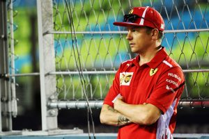 フェラーリドライバーとして最後の鈴鹿F1に臨むキミ・ライコネン