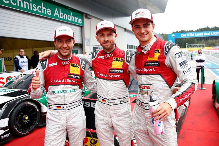 海外レース他 | DTM第17戦:アウディドライバーたちがアシストしラストが3連勝。首位はディ・レスタが浮上