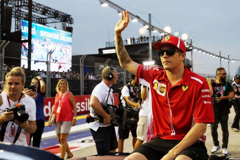 F1 | パドック裏話 シンガポールGP編:ザウバーへの移籍が決まってもキミ節は変わらず