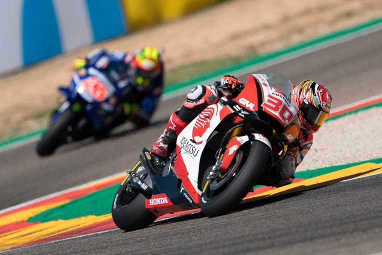 MotoGP   中上、MotoGPアラゴンGPではフロントに問題発生。「トップ10圏内フィニッシュのチャンスがあった」
