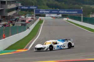 スパ・フランコルシャンでデモランを行なったGreenGT LMPH2G