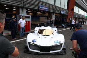 GreenGT LMPH2Gはアデス03 LMP3をモディファイした実験車両だ