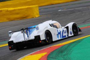 スパ・フランコルシャンでデモランを実施した水素燃料電池テストカー『GreenGT LMPH2G』