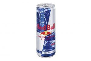 F1日本GPの期間中、鈴鹿サーキットで発売されるトロロッソ・ホンダデザインのレッドブル缶