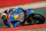Moto2のマシンをテストするジョアン・ミル