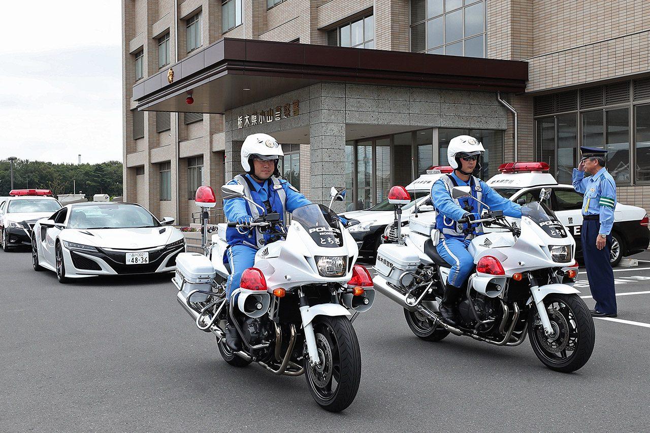"""山本尚貴が栃木県小山警察署で""""一日署長""""を務める「意識を高めて交通安全を」"""