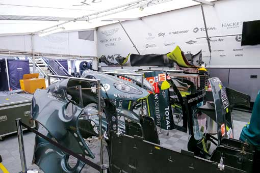 WEC富士:自動車メーカーがしのぎを削る世界選手権ならでは! 豪華ピット設備を目撃せよ