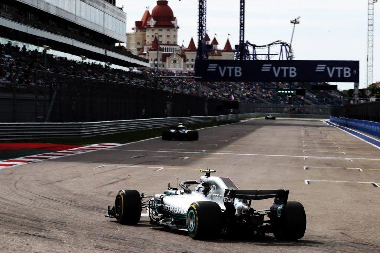 F1 | ボッタス「フェラーリはまだ実力を見せていない。予選では接戦になるだろう」:F1ロシアGP金曜