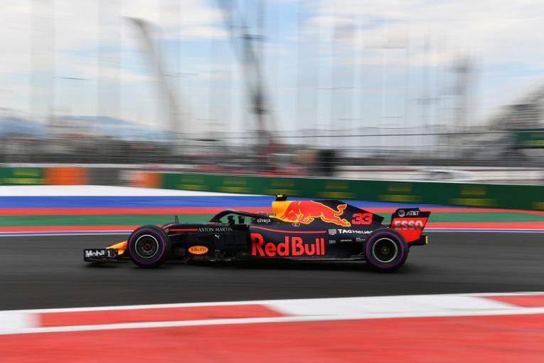 F1 | フェルスタッペン「フェラーリより速くて驚いた。グリッドは降格されるが決勝の戦いが楽しみ」:F1ロシアGP金曜