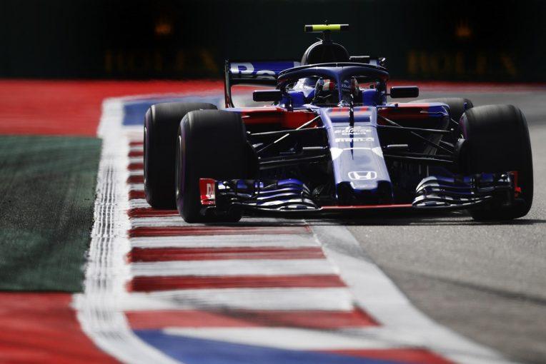 F1 | ホンダF1、旧型パワーユニットに載せ替え。新スペックに好感触も「さらなる調整を行い万全の態勢で鈴鹿に臨みたい」