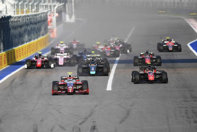 海外レース他   FIA F2第11戦ロシア レース1:アルボンが2018年シーズン4勝目。牧野と福住は揃って入賞を果たす