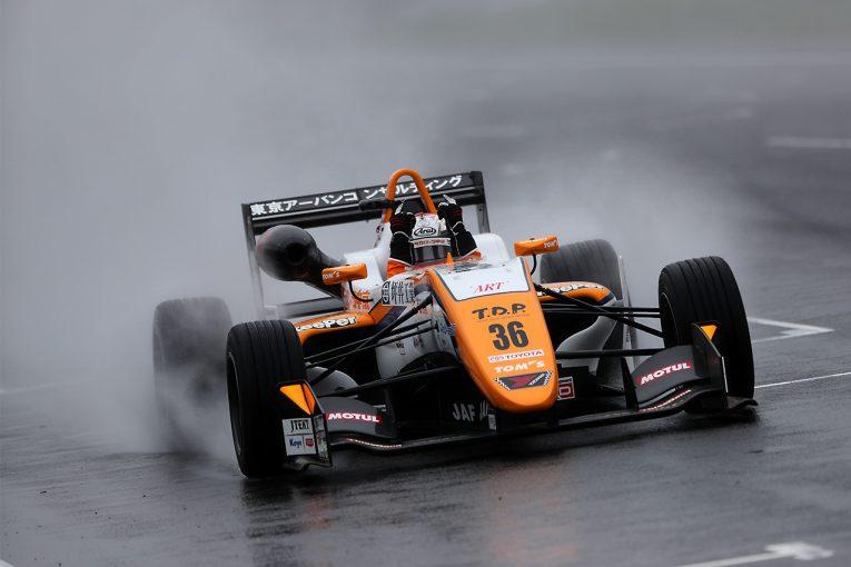 国内レース他 | 全日本F3選手権第17戦SUGO:ウエットレースも坪井の連勝止まらず。笹原、金丸が表彰台