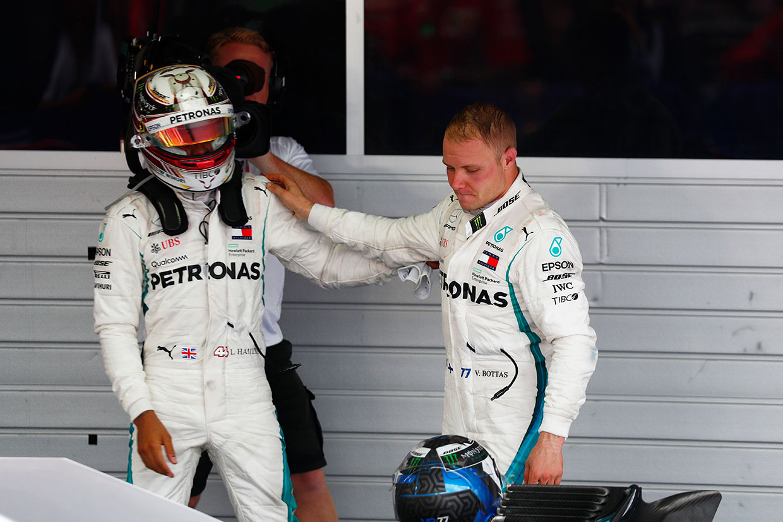 F1ロシアGP決勝:チームオーダー発動でハミルトン優勝、チャンピオンシップ争いのリードをさらに拡大