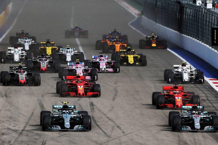 F1 | 【動画】F1第16戦ロシアGP決勝ハイライト