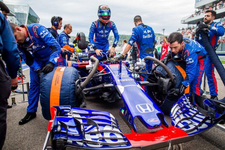 F1   ハートレー「厳しい週末だったが、PUアップデートの効果を確認できたのはよかった。鈴鹿が楽しみ」:トロロッソ・ホンダ F1ロシアGP日曜