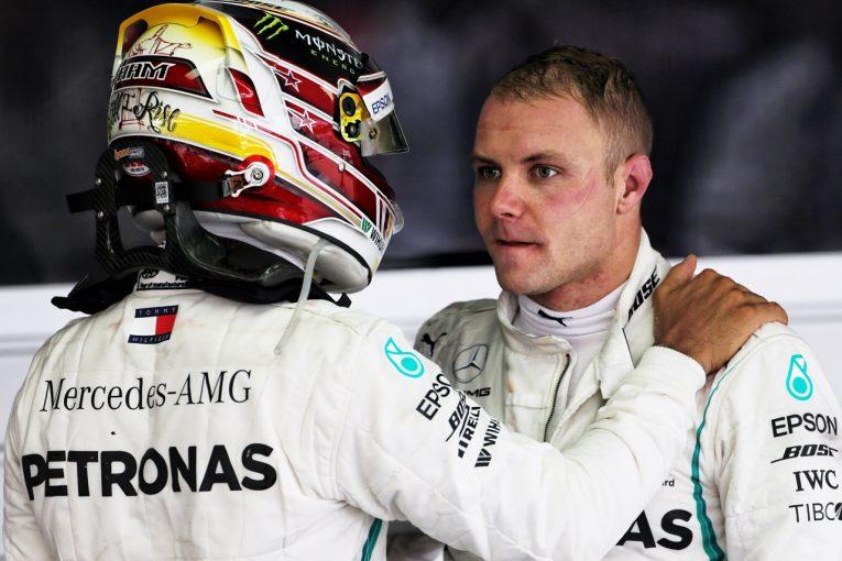 F1 | 優勝をハミルトンに譲ったボッタス「チームにとって理想的なリザルトだが、僕にとっては辛い結末」:F1ロシアGP日曜