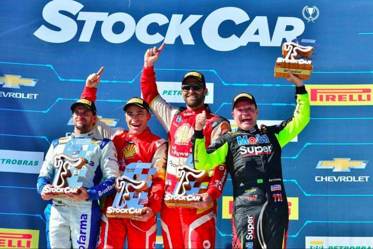 海外レース他   ストックカーブラジル第9戦:王者ダニエル・セラが連続2位。元F1ドライバーのバリチェロが3位表彰台