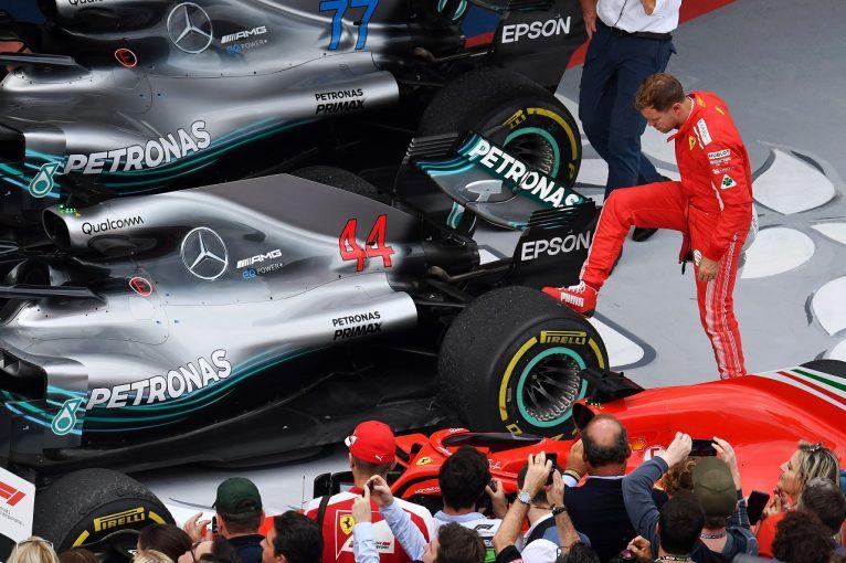 F1 | ベッテル「まだタイトルを諦めない。ハミルトンが一度でもリタイアすれば状況は一変する」:F1ロシアGP日曜