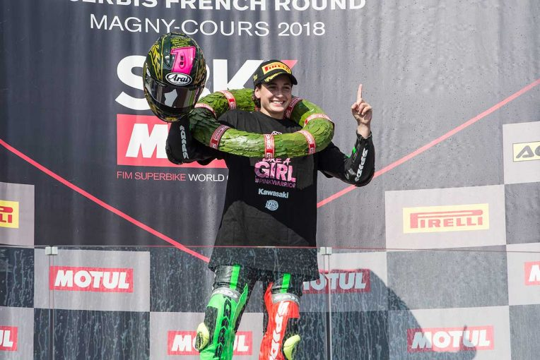 MotoGP | 市販車ベース世界選手権で2輪界初の女性世界王者誕生。SBKマニクールは王者レイが連勝