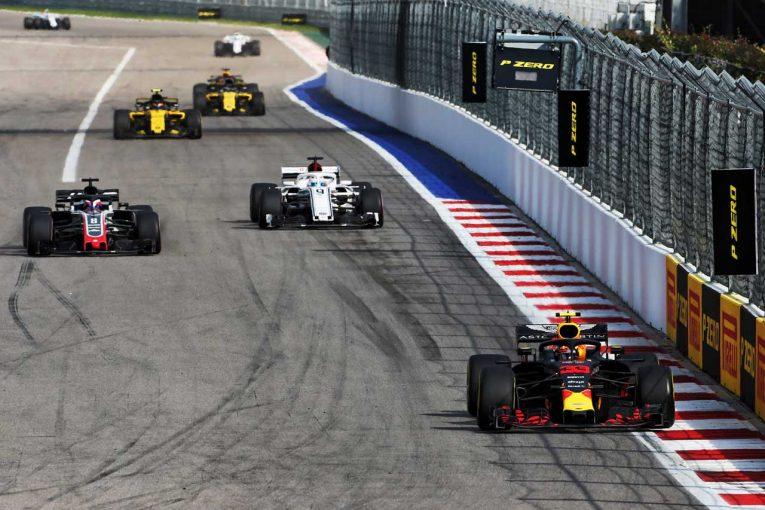 F1 | ピレリ、後方からトップ6入りのレッドブル勢を称賛。「上位陣と異なる選択で素晴らしい走りを披露した」