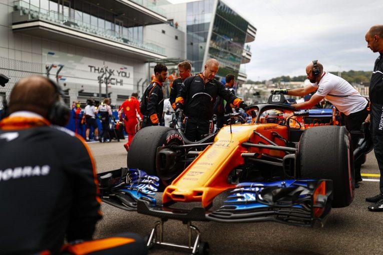 F1 | バンドーン、決勝前にギヤボックス交換で降格「戦略が理想的ではなかった」:F1ロシアGP日曜
