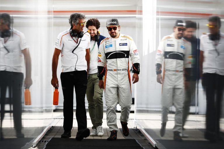 F1   アロンソ「今週末は入賞できるだけの強さがなかった。次の鈴鹿に期待」:F1ロシアGP日曜