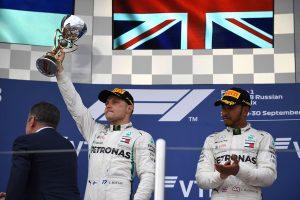 2018年F1第16戦ロシアGP チームオーダーにより勝利を失ったバルテリ・ボッタス