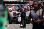 F1 | F1 Topic:ロシアGP開幕前日、ハースで原因不明のタイヤ火災が発生